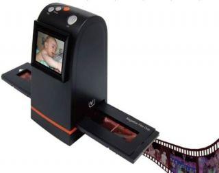 """2400dpi High Resolution 9 Mega Pixel Film Slide Scanner Scanning 2 4"""" TV Out"""