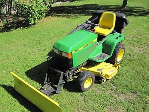 2001 John Deere 425 Garden Tractor Lawn Tractor 20 HP Liquid Cooled Kawasaki