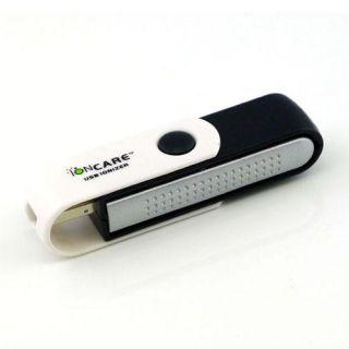 New Portable USB Fresh Clean Ionic Air Purifier Anion Ozone Ionizer Cleaner
