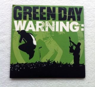 "Green Day Warning 7"" NOFX Alkaline Trio AFI Blink 182 Screeching Weasel Adilene"