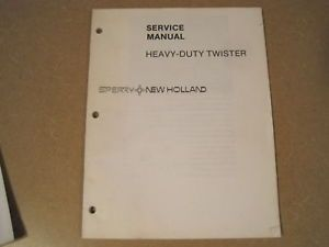 New Holland Wire Baler Twister Knotter Service Repair Manual