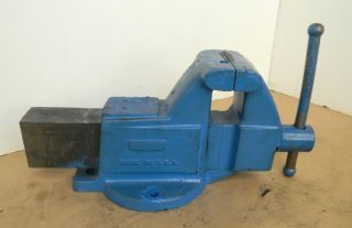 "Columbian 4"" Heavy Duty Machine Vise 9"" Capacity"