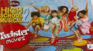 High School Musical Twister Moves Game 2 Dance Mats