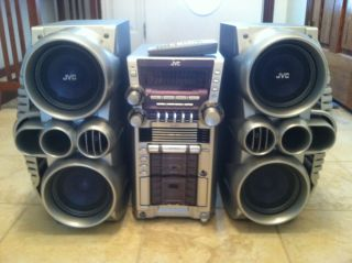 JVC HX D7 Tower of Power Compact Stereo System 520 Watts