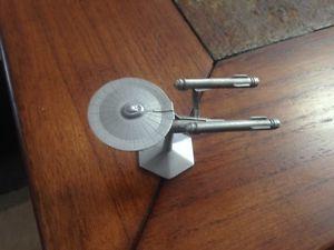 Star Trek Pewter Starship Enterprise Model