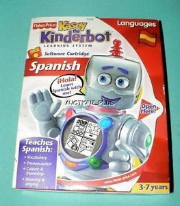 Kasey The Kinderbot Learning System Languages Spanish Software Cartridge