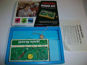 1973 Midland Electronics Young World Crystal Radio Kit