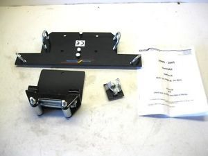 Suzuki Quadrunner Quadmaster 500 4x4 Winch Mount Kit Cycle Country 20 4041