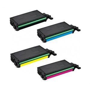 Samsung CLP620 Laser Toner Cartridge Set CLP 620 620ND 670nd CLX 6220FX 6250FX
