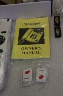 Teleguard TG LED Wireless Alarm Emergency Telephone System New