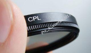 67mm CPL Filter Lens Circular Polarizing Canon Nikon