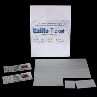 perforated ticket paper Raffle ticket is an extremely easy-to-use program which allows you to print and  number tickets in just minutes, right from your own pc and desktop printer raffle .