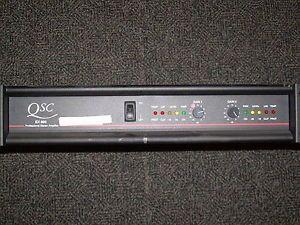 EX800 Professional 550 Watt 2 Channel Power Amplifier Stereo Amp DJ