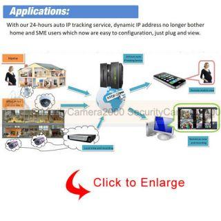 Wireless 720P IP Network Camera Plug Play Smart Phone View IR Day Night 10M WiFi