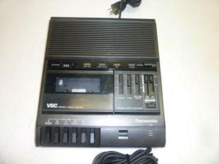 Panasonic SVC Model RR 830 Office Dictation Machine