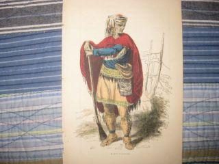 Native American Indian Print