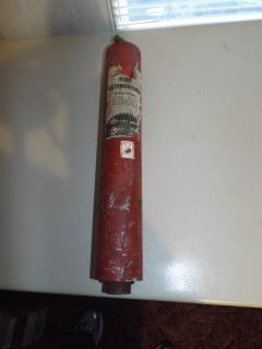 Vintage Security Fire Extinguisher Safety First Company