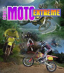 Moto Extreme PC CD Dirt Track motorbike Racing Game