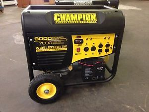 7000 9000W Champion Power Equipment Generator Refurbished