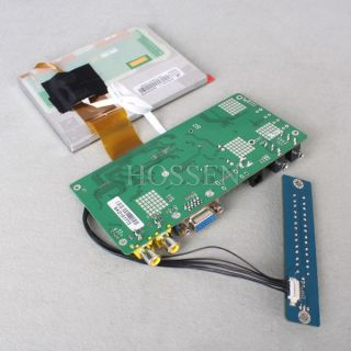 """5"""" TFT LCD Touch Screen SKD Monitor DIY Module for ATM POS Medical Equipment"""