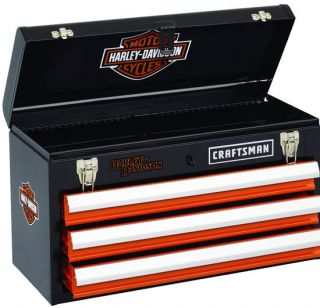 New Craftsman Harley Davidson Tool Box Chest 3 Drawer RARE