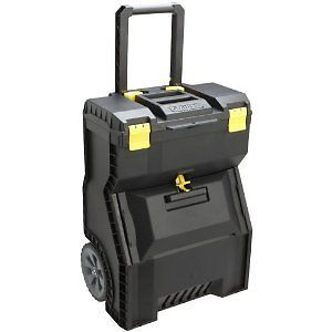 Stanley Mobile Work Center Power Tools Large Case Storage Slide Home Top New