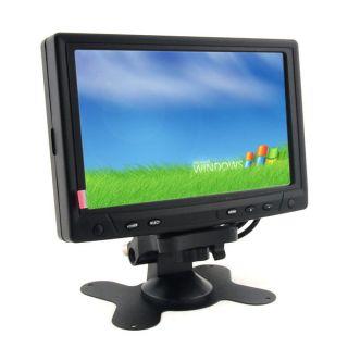 Touch Screen LCD 7 inch Monitor Display TFT VGA AV RCA for Car DVD PC POS