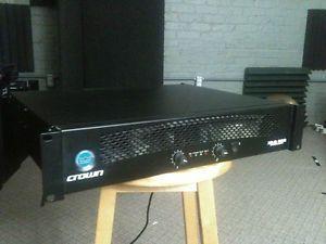 Crown XLS 202 Stereo Power Amp Amplifier XLS202 600W