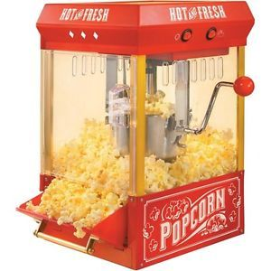 Brand New Kettle Popcorn Maker Small Kitchen Appliances Popcorn Popper