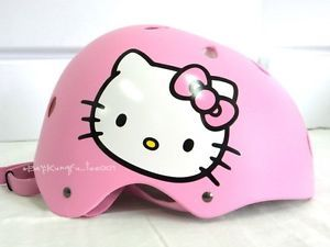 Sanrio Helloy Kitty Helmet Protective Safety Gear Adult Motor Bike Cycling New