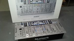 Numark AVM02 Pro Audio Video DJ VJ Mixer Switcher 4 Channel Audio Video