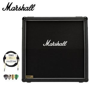 Marshall 1960A 300 Watt 4x12 Guitar Speaker Cabinet Kit w 10 ft Cable Picks 5030463039595