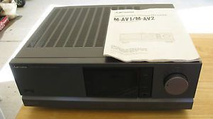 Mitsubishi Audio Video Stereo Receiver Model M Avi with Instruction Manual