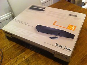 Bose Solo TV Sound System with Remote Control Home Theater Surround Sound System