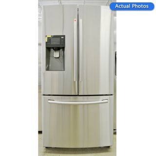 Samsung RF263BEAESR Stainless Steel 26 CU ft French Door Refrigerator