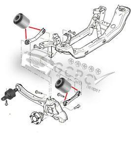 Ford Focus MK1 MK2 Rear Axle Suspension Repair Kit Bush Kit
