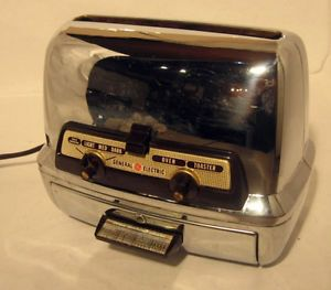 Vintage General Electric 25T83 Toaster Toaster Oven