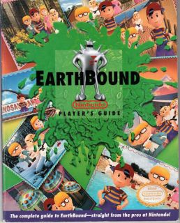 Earthbound Nintendo Player's Guide Strategy Guide
