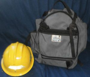Wilderness Fire Fighter Gear Bag Fire Shelter Safety Pack Helmet Smoke Jumper
