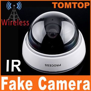 Wireless Dummy Fake Camera LED Home Security System Surveillance