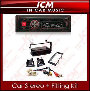 Alpine USB CD Tuner iPod MP3 Stereo Nissan 350Z Car Radio Fascia Adaptor Kit
