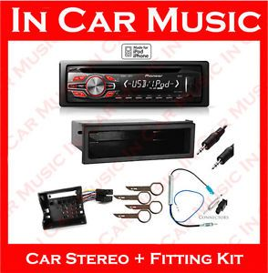 VW Polo Pioneer CD Player Aux Stereo MP3 USB iPod iPhone Car Radio Kit