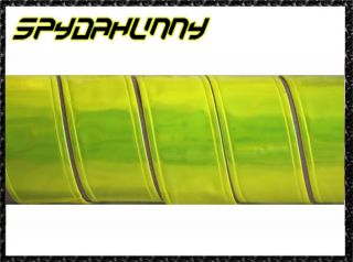 Yellow Sew on 2 5cm Width Phat Pants Reflective Tape x 1M