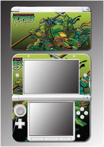 Teenage Mutant Ninja Turtles TMNT Shredder Pizza Video Game Skin Nintendo 3DS XL