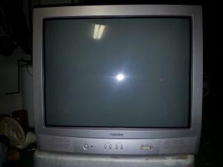 "Panasonic Television Model 27A34 27"" CRT Color TV"