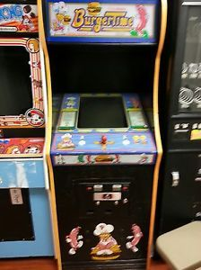 Burger Time Stand Up Arcade Original Video Game