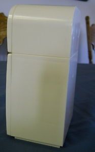 Madeline Doll Eden; Vintage Madeline Doll House Furniture Eden Toy  Refrigerator 2 Door Shelves ...
