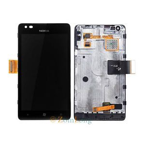 Full LCD Screen Display Touch Screen Digitizer Assembly for Nokia Lumia 900