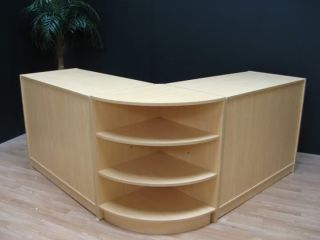 Venus Retail Shop Display Counter Set Counters Till Curved Cabinet Shelving