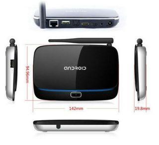 Quad Core Android 4 2 RK3188T Mini PC Smarttv Box Media Player 1GB 4G BLUETOOTH9
